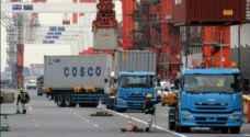 عجز تجاري غير متوقع في اليابان في ايار