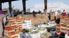 100 ألف طن صادرات الخضار والفواكه خلال حزيران
