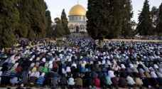 250 مصل من قطاع غزة يتوجهون للصلاة في الاقصى