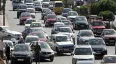 الجمارك: 300 الف سيارة اجنبية دخلت المملكة لمنتصف تموز