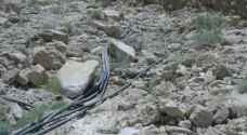 المياه تزيل أكبر اعتداء على المياه في وادي الأردن