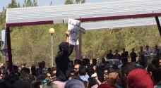 انهاء اعتصام طلبة الهاشمية الخاص بالرسوم