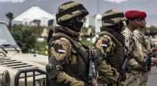سيناء: مقتل 5 مسلحين بهجمات متزامنة على حواجز أمنية
