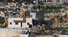 الاحتلال يهدم 8 منازل مأهولة في سعير شمال الخليل