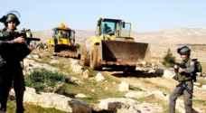 الاحتلال الاسرائيلي يغلق عدة قرى في نابلس