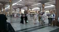 بالصور ..رؤيا ترصد حجاج بيت الله الحرام في المسجد النبوي