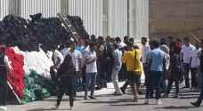 """بالصور: علم الأردن من 3 آلاف قطعة ملابس """" لن يتم إتلافها """""""