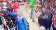 شاهد بالفيديو: سرقة محل تجاري من قبل امرأة في الوحدات