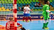 كأس العالم لكرة الصالات.. روسيا تكتسح مصر بسداسية