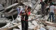 سوريا: قتلى بغارات على شرقي حلب