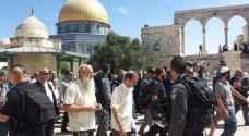 1171 مستوطنًا اقتحموا المسجد الأقصى بأيلول