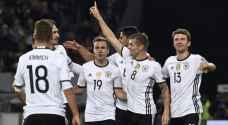 ألمانيا تعبر عقبة التشيك بسهولة