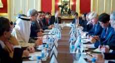 جوده يشارك باجتماع مجموعة باريس حول سوريا في لندن