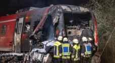 مقتل شخص وإصابة 7 فى اصطدام قطار وشاحنة بألمانيا