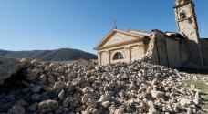 زلزال إيطاليا يدمر كنائس تاريخية