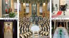شاهد بالصور: الإستعدادات الأخيرة لخطاب العرش السامي في مجلس الأمة
