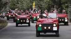 ما هي مراسم استقبال جلالة الملك في مجلس الامة قبيل خطاب العرش؟
