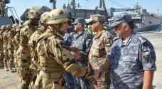 استمرار فعاليات التدريب المصري الأردني المشترك
