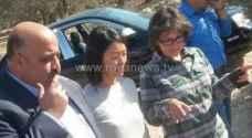 وزيرة السياحة توجه بتأهيل مغارة بيت راس الاثرية..صور