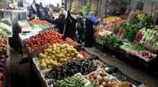 الأردن يستورد 3200 طن خضار وفواكه من سوريا