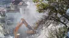 بلدية الاحتلال تطلب هدم 14 منزلا في القدس