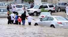 أمطار غزيرة على السعودية وقطر والبحرين والكويت
