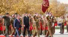 الملك يلتقي الرئيس السلوفيني..صور