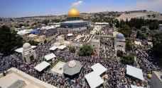 الاحتلال الاسرائيلي يواصل منع مسنين من غزة الصلاة في الاقصى المبارك