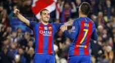 برشلونة يكتسح إيركوليس بسباعية ويبلغ ثمن نهائي كأس الملك