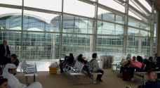 مطار الملكة علياء الدولي يستقبل أكثر من 488 ألف مسافر في شهر