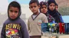 أطفال 'البربيطة' أجساد نهشها فقر شديد وبرد قارس.. صور