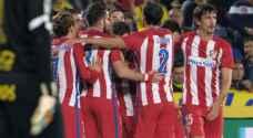 أتلتيكو مدريد يهزم لاس بالماس ويقترب من ربع نهائي الكأس