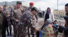 قيادة المنطقة العسكرية الشمالية توزع عدداً من طرود الخير وتعيد ترميم أحد البيوت