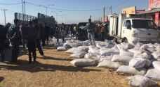 وفاة و 19 إصابة بتدهور شاحنة قرب مثلث الرامه - فيديو