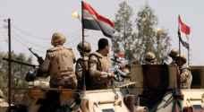 الجيش المصري يحبط هجمات إرهابية على كمائن بسيناء