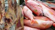 ضبط 130 طنا من اللحوم والاسماك والدواجن الفاسدة قبل توزيعها على المطاعم والفنادق