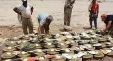 الحوثيون يزرعون الألغام على سواحل الحديدة