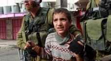 زيادة عدد الأطفال الفلسطينيين المحتجزين في سجون الاحتلال