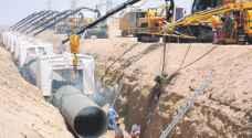 مياه المفرق: خط الصرف الصحي سيكون جاهزا خلال 24 ساعة