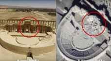 داعش يسعى لتدمير آثار تدمر المتبقية قبل الانسحاب