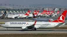 إخلاء طائرة ركاب تركية بسبب رسالة مشبوهة