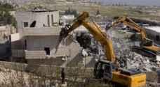 الاحتلال يخطر بهدم مساكن ومنشآت بالأغوار الشمالية