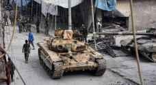 صواريخ غراد على مطار عسكري شرقي حلب
