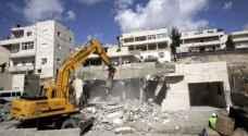 الاحتلال يهدم بناية سكنية شرق القدس