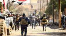 القوات العراقية يسيطر على محطة قطار الموصل