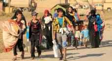 منظمة الهجرة: نزوح 100 الف عراقي من غرب الموصل