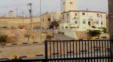 بالصور .. غلق أمني في منطقة البحر الميت