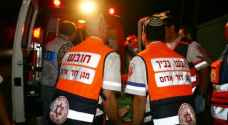 اصابة مستوطن طعنا جنوب فلسطين المحتلة