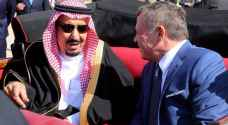 الحكومة ترحب بزيارة خادم الحرمين الشريفين للأردن