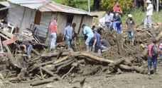 مقتل العشرات في انزلاقات للتربة بكولومبيا